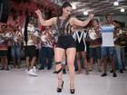 Viviane Araújo sofre lesão no joelho: 'Dei um salto e agachei muito rápido'