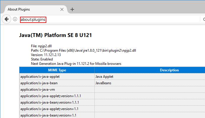 Conferindo os plugins no Firefox Portable (Foto: Reprodução/Edivaldo Brito)