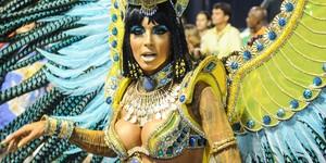 SUPERZOOM: decote de 'Cleópatra' deu uma 'escapadinha'; AMPLIE (Alexandre Durão/G1)