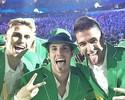 Joga bonito: trio brasileiro do futebol faz sucesso e encanta público feminino