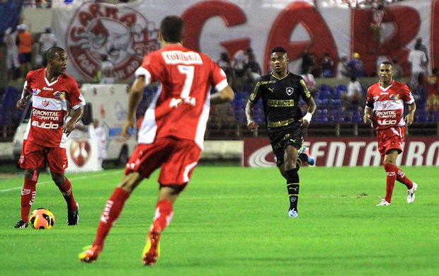 Vitinho jogo Botafogo CRB Copa do Brasil (Foto: Ailton Cruz / VIPCOMM)