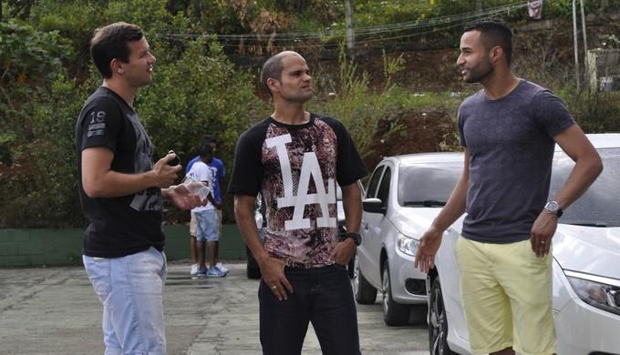 Após eliminação no Mineiro, jogadores e comissão técnica da Caldense são dispensados (Foto: Lúcia Ribeiro)