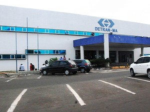 Estacionamento do Detran, no Maranhão (Foto: Divulgação/Secom)