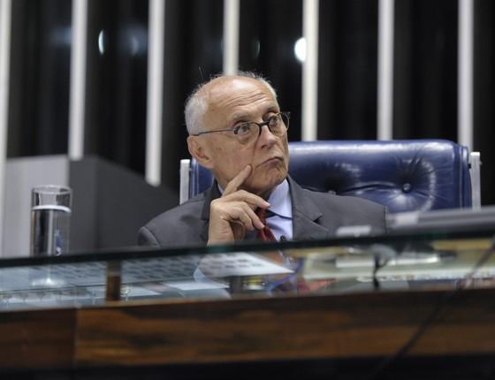 O vereador Eduardo Suplicy (PT-SP), em foto de 2014, quando era senador (Foto: Jefferson Rudy/Agência Senado)
