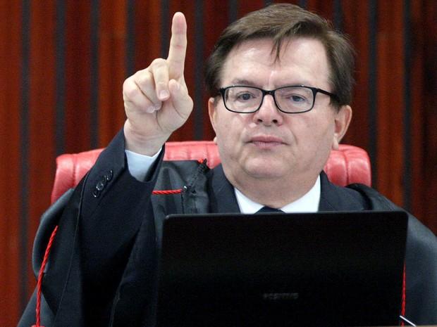 Ministro Herman Benjamin, relator do processo que pede a cassação da chapa Dilma-Temer no TSE