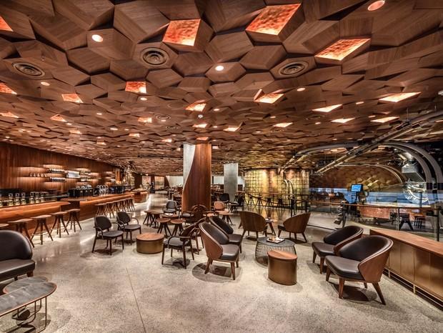 Novo Starbucks será inaugurado nessa quarta-feira (6), em Xangai (Foto: reprodução)