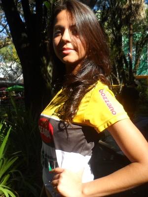 Renata Velho Toretti candidata musa do brasileirão Criciúma (Foto: João Lucas Cardoso)