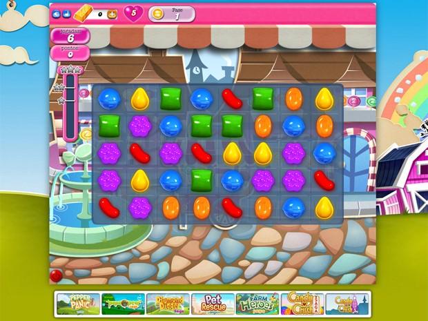 'Candy Crush Saga' virá instalado de fábrica no Windows 10 (Foto: Reprodução/King)