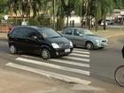 Parar na faixa de pedestre é infração mais cometida em Araçatuba, SP
