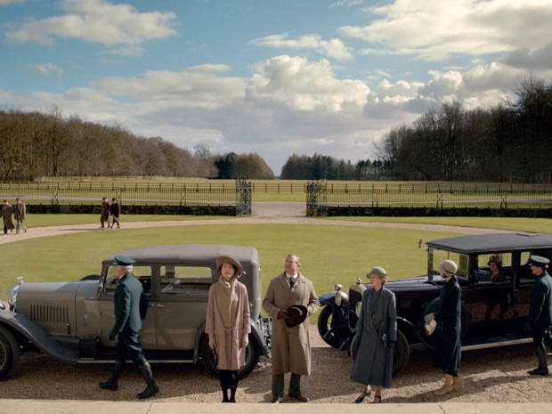 ltima temporada de Downton Abbey (Foto: GNT)