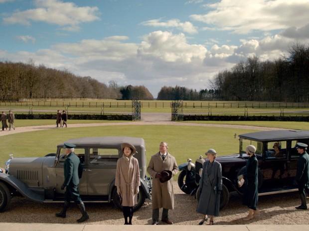 ltima temporada de Downton Abbey (Foto: GNT)