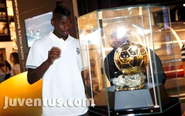 Paul Pogba museu Juventus (Foto: Reprodução / Site Oficial)