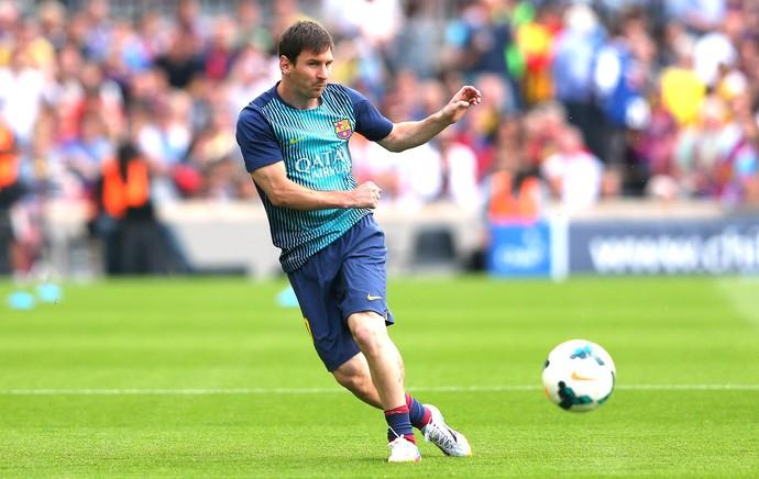 Messi Barcelona e Atletico de Madrid (Foto: Getty Images)