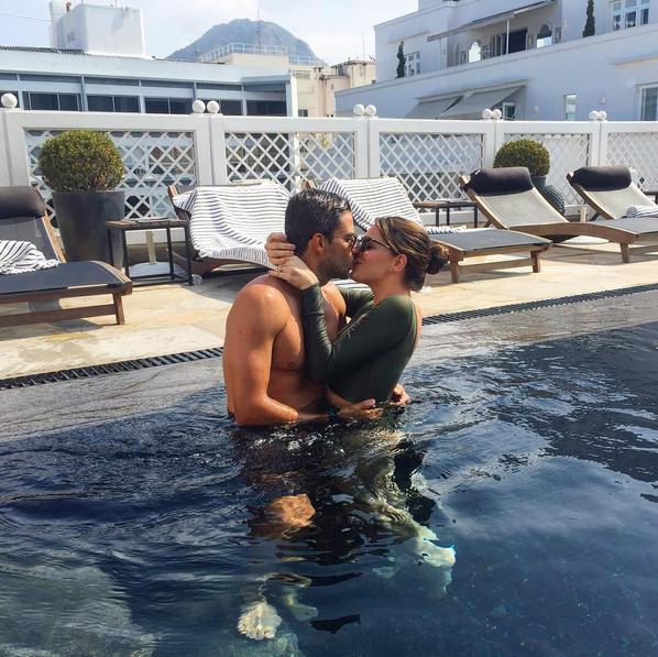 Luma Costa e o marido, Leonardo Martins (Foto: Reprodução/Instagram)