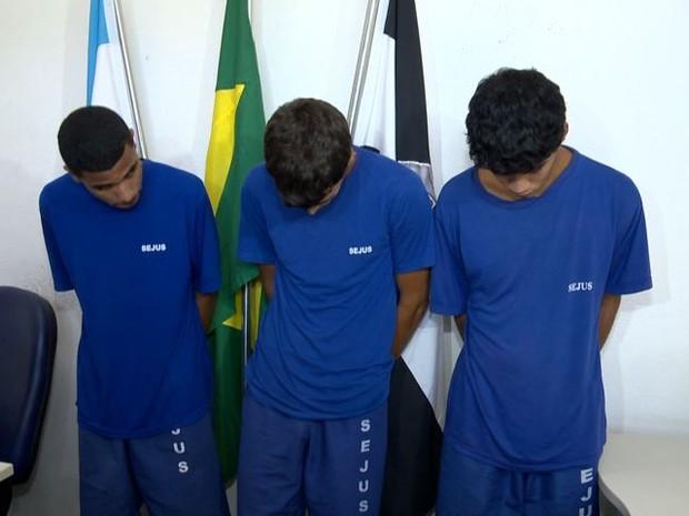 Jovens são suspeitos em dez casos de homicídio (Foto: Reprodução/ TV Gazeta)
