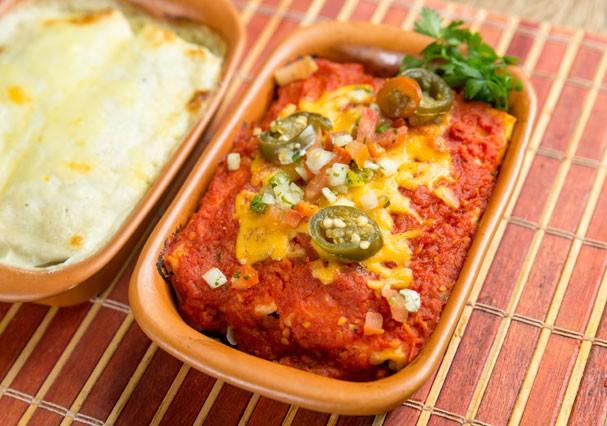 Enchiladas: a deliciosa panqueca de milho mexicana (Foto: Divulgação)