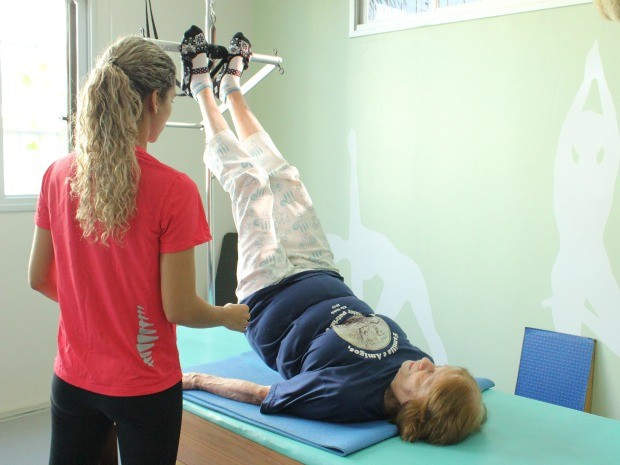 Método auxilia na reabilitação muscular (Foto: Girlene Medeiros/G1 AM)