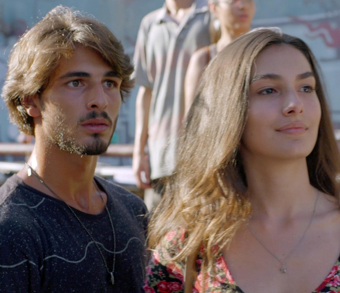 """Luciana faz aquela cara de """"eu te falei"""" (Foto: TV Globo)"""