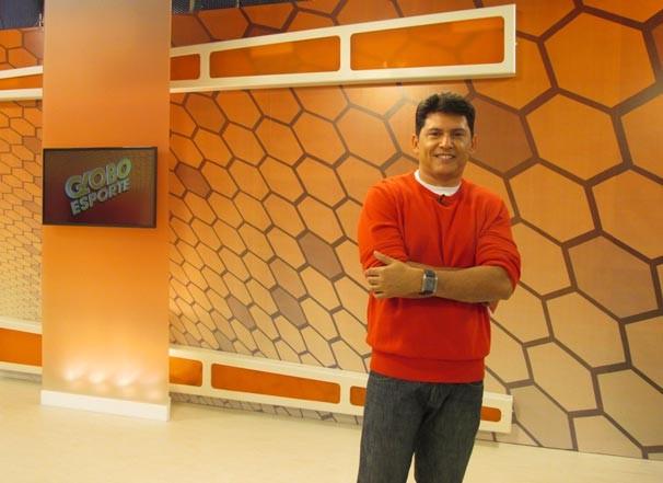GE Piauí é um dos primeiros a estrear o novo projeto para programas esportivos da Globo (Foto: Katylenin França/TV Clube)