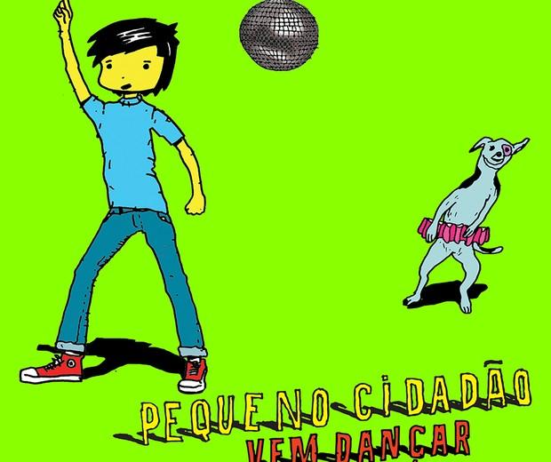 Capa do álbum Vem Dançar (Foto: Divulgação)