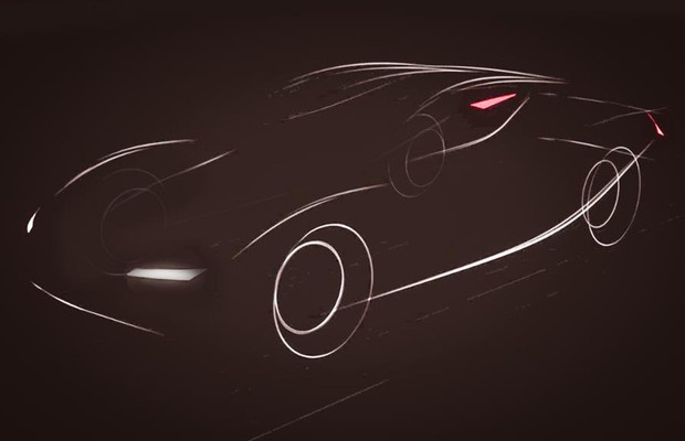 TEASER: Fabricante chinesa Atieva promete carro elétrico para 2016 (Foto: Divulgação)