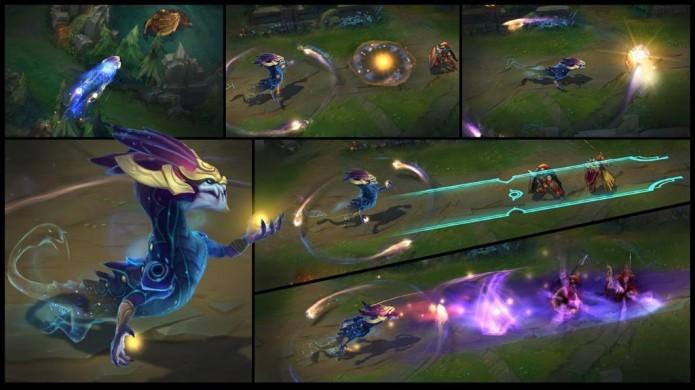 League of Legends: dentre suas habilidades, Aurelion Sol pode literalmente voar sobre obstáculos (Foto: Divulgação)