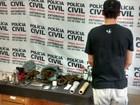Jovem é preso após ser flagrado com 'supermaconha' em Juiz de Fora
