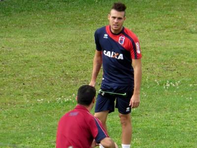Pedro Castro Paraná Clube (Foto: Fernando Freire)