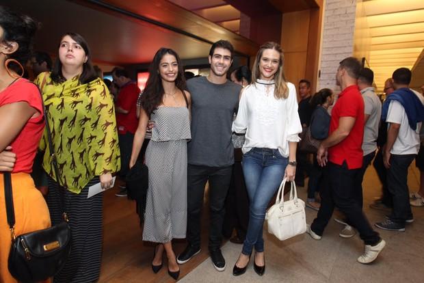 Julianno Laham e Juliana Paiva (Foto: Marcello Sá Barretto / AgNews)