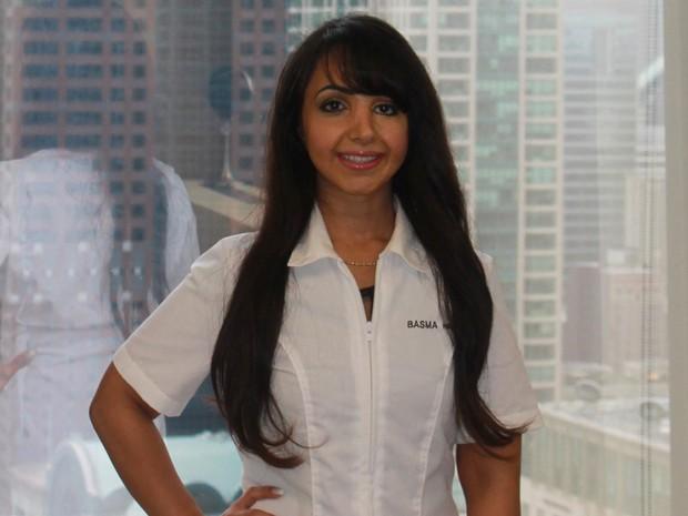 Basma Hameed transformou sua experiência em negócio. Ela trabalha em duas clínicas, que levam seu nome, no Canadá e EUA (Foto: Arquivo Pessoal)