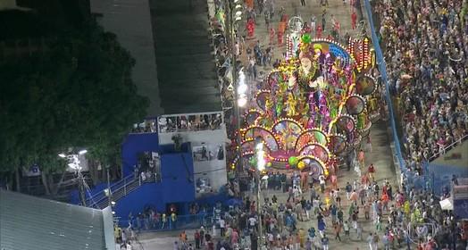 Carnaval do Rio (Arte/G1)