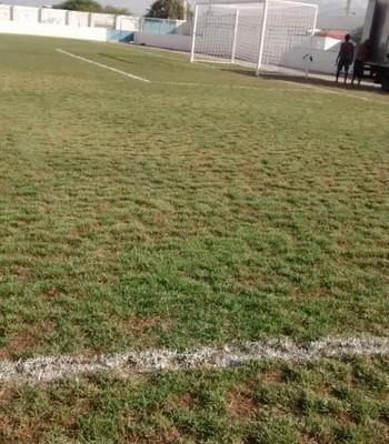 Campo do Valfredão, em Riachão do Jacuípe (Foto: GloboEsporte.com)