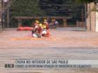 Cinco municípios de SP decretam emergência por causa da chuva