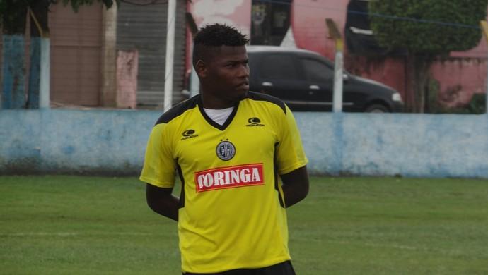 Lúcio Maranhão, atacante do ASA (Foto: Leonardo Freire/GLOBOESPORTE.COM)