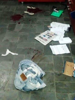 Marido da vítima encontrou sinais de arrombamento na casa (Foto: Divulgação/Polícia Civil)