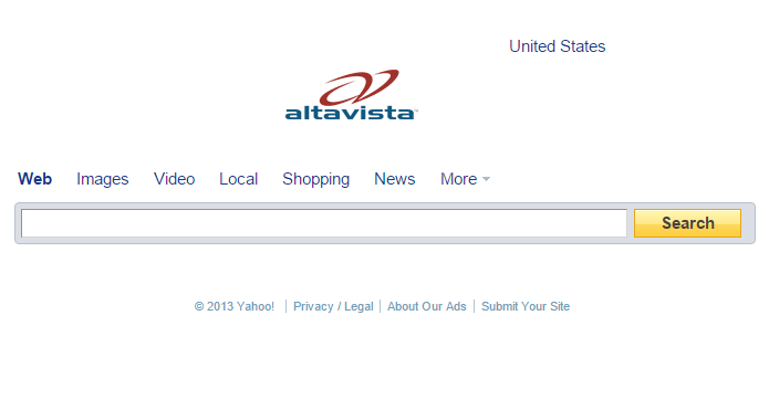 Site de buscas foi comprado pelo Yahoo e encerrado (Foto: Reprodução/Archive.org)