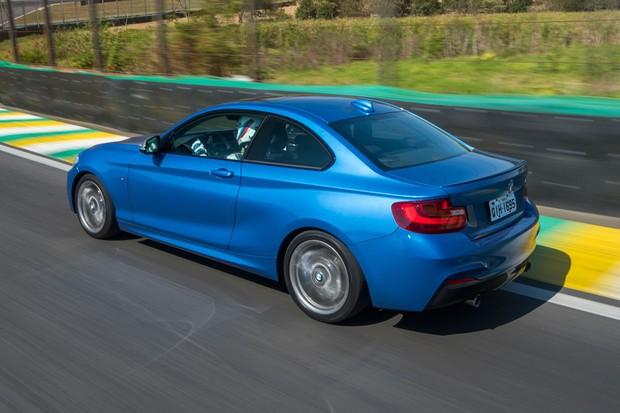 Comportamento dinâmico é mais afiado em comparação a outros BMW maiores (Foto: Divulgação)