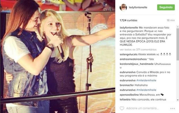 Antônia Fontenelle e Wesley Safadão (Foto: Reprodução/Instagram)