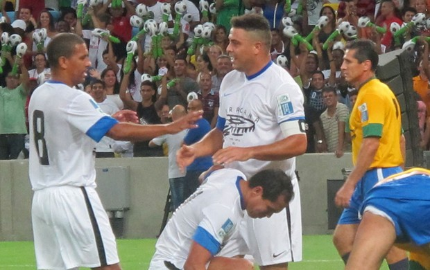 Ronaldo Maracanã reabertura (Foto: Janir Junior)