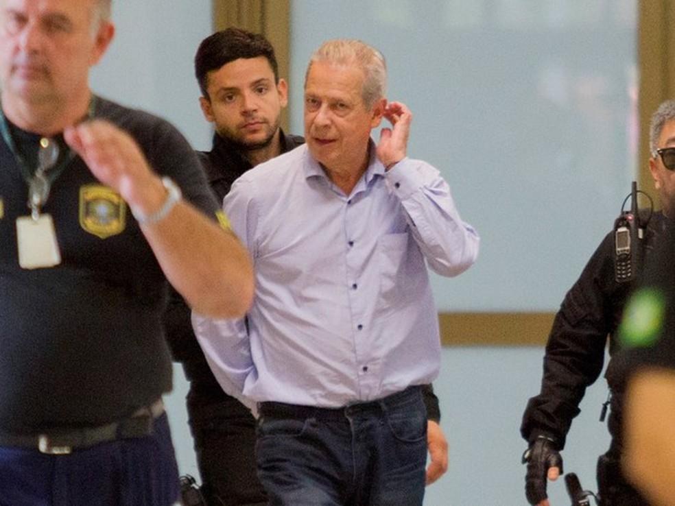 José Dirceu está preso desde 2015 no Complexo Médico-Penal (CMP) de Pinhais, na região metropolitana de Curitiba. (Foto: Paulo Lisboa/Brazil Photo Press/Estadão Conteúdo)