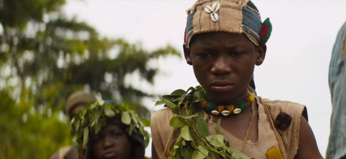 Cena de 'Beasts of no nation', do Netflix