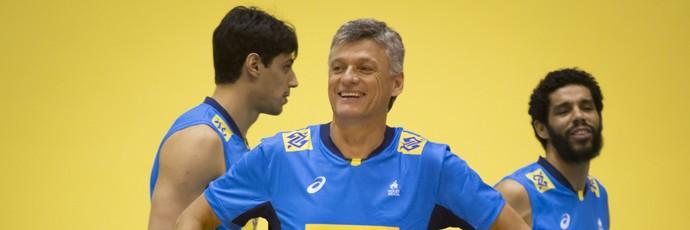 Renan Dal Zotto seleção (Foto: Marcio Rodrigues/MPIX/CBV)