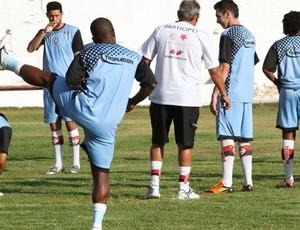 treino do campinense (Foto: Magnus Menezes / Jornal da Paraíba)