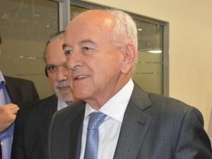 Ministro do Trabalho e Emprego, Manoel Dias, em Piracicaba (Foto: Araripe Castilho / G1)