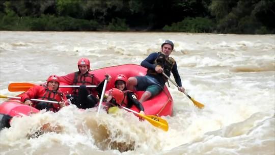 Tô de Folga mostra aventura cheia de adrenalina no Vale do Itajaí (SC)
