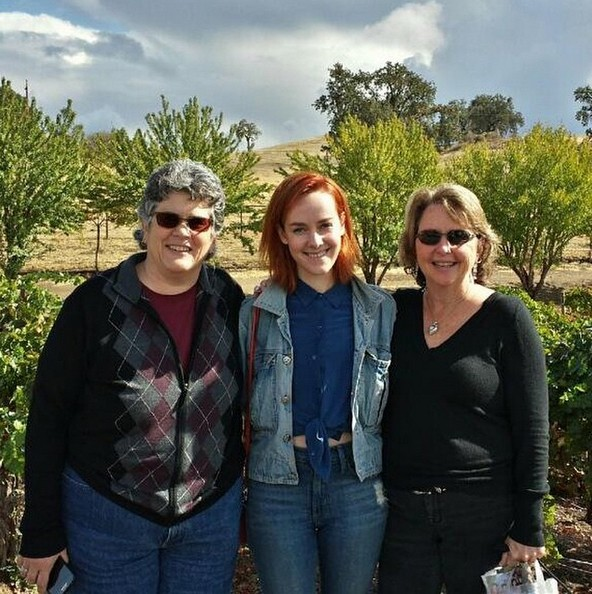 Debbie Malone, Jena Malone e Donna Mason (Foto: Reprodução/Instagram)