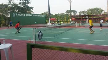 Acre Open de Tênis no Círculo Militar (Foto: Divulgação/Fact)