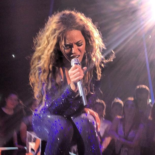Beyoncé (Foto: Reprodução/Instagram de Flora Gil)
