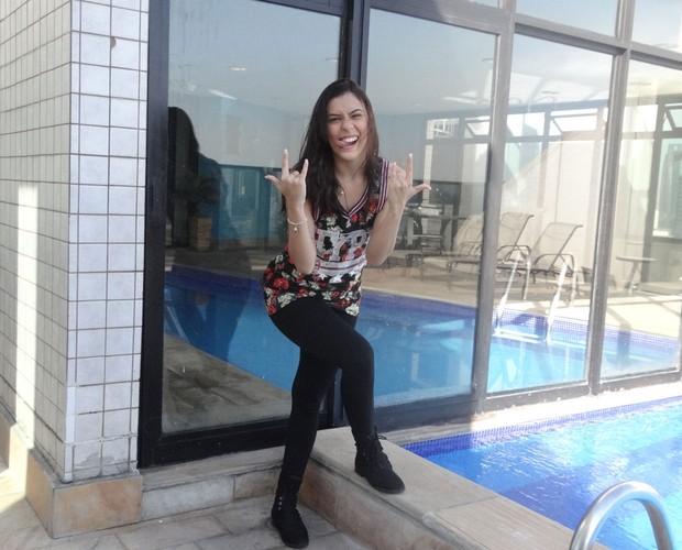 Natália Portilla mostra que tem muita personalidade  (Foto: Andréa Paiva/ Gshow)