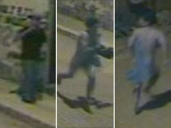 Suspeito de estuprar menina de 6 anos no DF foi flagrado por câmeras de segurança da vizinhança (Foto: TV Globo/Reprodução)